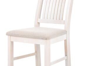 Söögitoakomplekt SALLA + 6 tooli pehme istmega (valge peits)